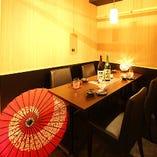 ◆隠れ家個室居酒屋 へぎそば 村瀬 ◆―少人数テーブル席―