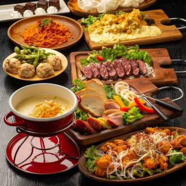 肉バル 食べ飲み放題 和牛と個室 ビーフ蔵 姫路店 喫煙OK コースの画像