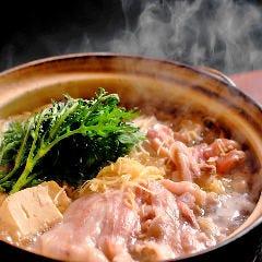 国産豚のあったか生姜鍋