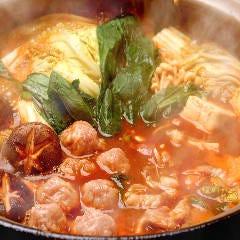 純系名古屋コーチン 赤味噌鍋
