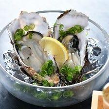 ぷりっぷり新鮮で大粒の牡蠣