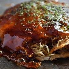 広島風お好み焼き 肉玉そば