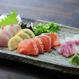 おまかせ鮮魚 3種類盛り