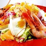 海鮮一心サラダ