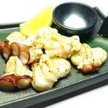 北海道産活ダコの炙り焼き