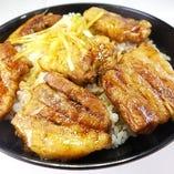 十勝中札内産白樺ポーク豚丼