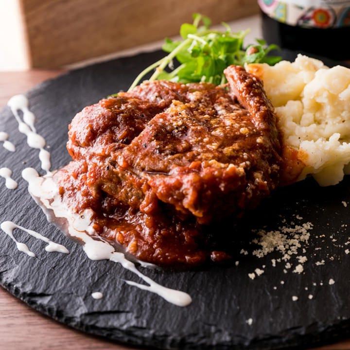 低温調理でやかない肉のイタリアン!