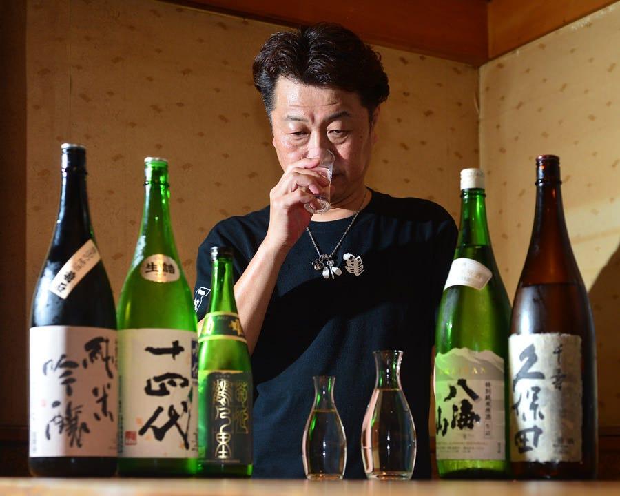 利酒師によるこだわりの日本酒!!