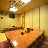 お座敷席(10名様×2卓)