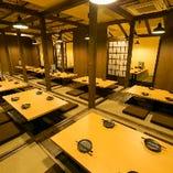 各線京都駅からスグの個室居酒屋をまるごと貸切!(110名様まで)