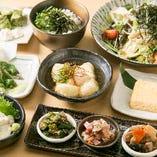 京都をまるごと堪能できるリーズナブルな『京三昧コース』です