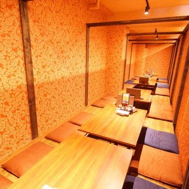 個室居酒屋 藁焼きと鮮魚 た藁や JR茨木駅前店 店内の画像