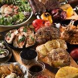 歓送迎会&忘年会は3種肉のシュラスコプランがオススメ!