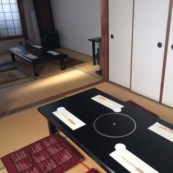 宴会に最適な個室を完備