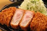 鹿児島黒豚厚切りかつ定食
