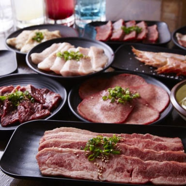 七輪焼肉 安安 寺田町店 コースの画像