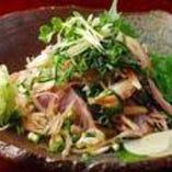 かつおのタタキ(藁焼き)