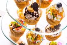 カップケーキタワーでお祝い誕生日♪