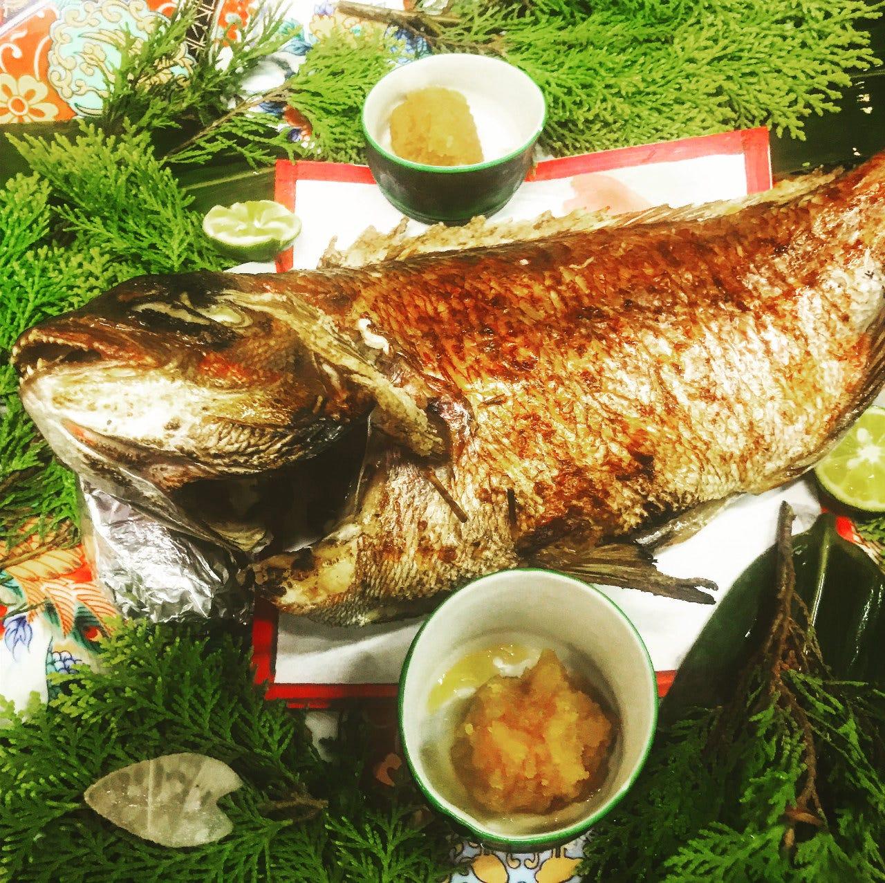 歓送迎会、記念日最適、鯛のコース