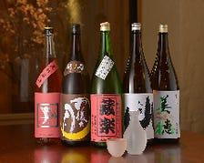 広島の地酒が豊富に揃う