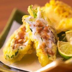 真鯛の梅しそ天ぷら