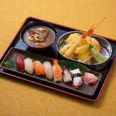 にぎり寿司・天ぷら定食