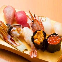 特上にぎり寿司盛り合わせ
