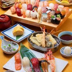 市場寿司食べ放題付 魚河岸宴会コース (期間限定 毎日 14:00~ 2021年9月末)