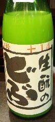 生もとのどぶ 純米にごり酒