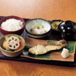焼魚西京焼き定食