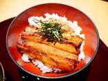 鰻腹丼(まんぷくどん)