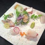 魚粋鮮魚七種盛り
