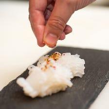 職人の技が光る鮮魚の握り寿司