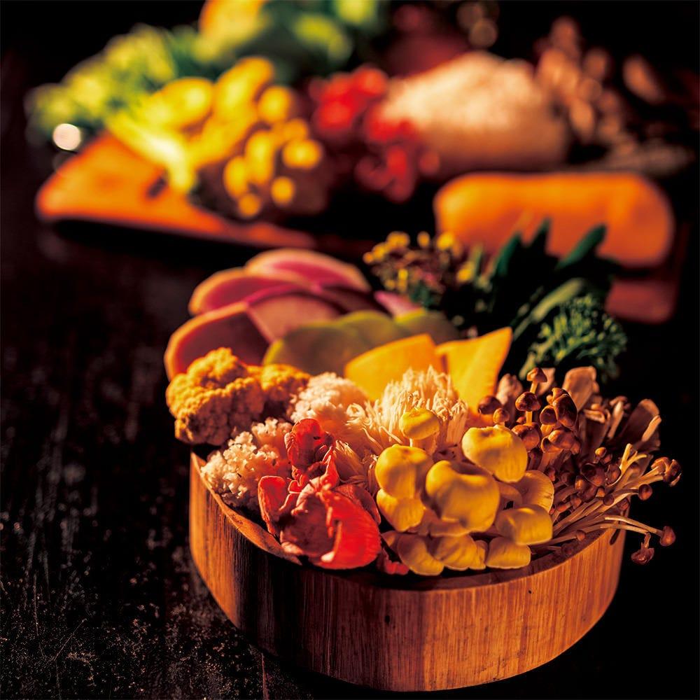 こだわりの農園野菜をご賞味あれ