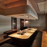 【寛ぎの個室】 接待にも使える掘りごたつ完全個室を完備