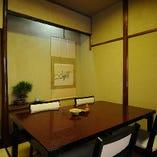 接待や会食に最適な個室です