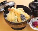 天丼(味噌汁・香の物)