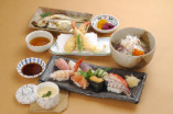 閖上寿司三昧御膳