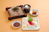 寿司そば御膳