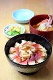 春 Spring (1月~3月) ◆ホッキめし定食(汁物・香の物)
