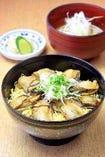 冬 Winter (12月~1月) ◆牡蠣めし定食(汁物・香の物)