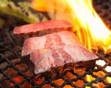 新鮮食材を炭火で焼いてジューシーに