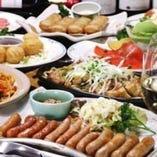各種ご宴会コースをご用意しています。まずはご相談を!!!