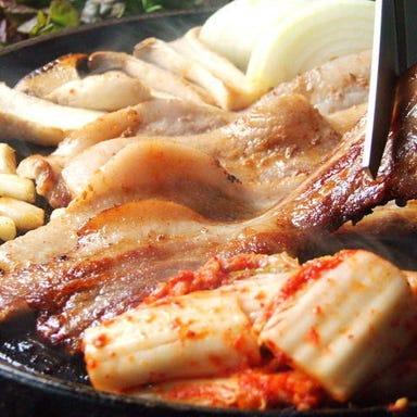 韓国伝統料理・焼肉ハヌリ 渋谷店  コースの画像