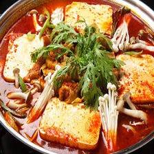 大人気の本格韓国鍋