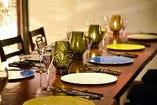 全席個室or半個室!三密対策バッチリのテーブル席!