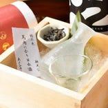【日本酒・焼酎】 肉料理に合う日本酒・焼酎を豊富に取り揃え