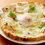 ビスマルク(パンチェッタ、半熟卵)