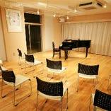スタジオはパーティーはもちろん、バレエ、ヨガ、タップ、フラメンコ、空手…様々な用途にご利用頂けます。スタジオは防音です。