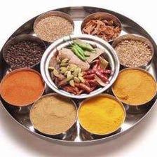 種類豊富なインドカレー